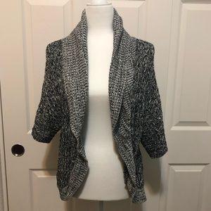 Dark Gray Marl Express Open Sweater